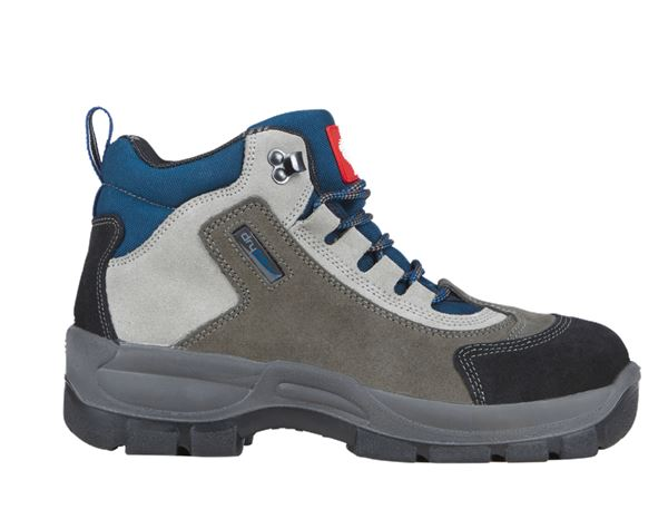 Safety Shoes S3: S3 Safety boots Oberstdorf + grey/navy blue/black