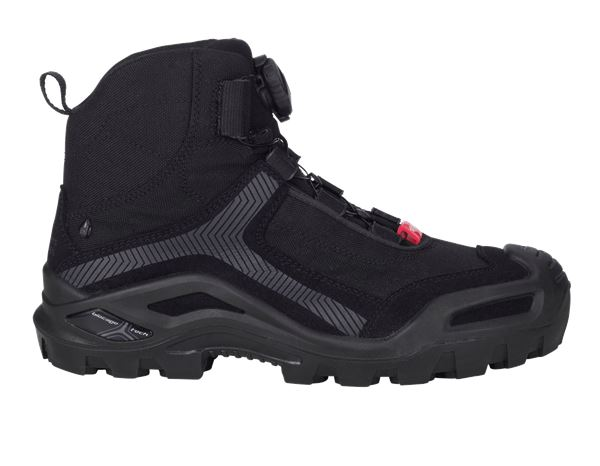 Safety Shoes S3: e.s. S3 Safety boots Kastra mid + black