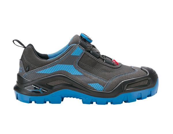 S3: e.s. S3 Safety shoes Kastra low + titanium/gentian blue