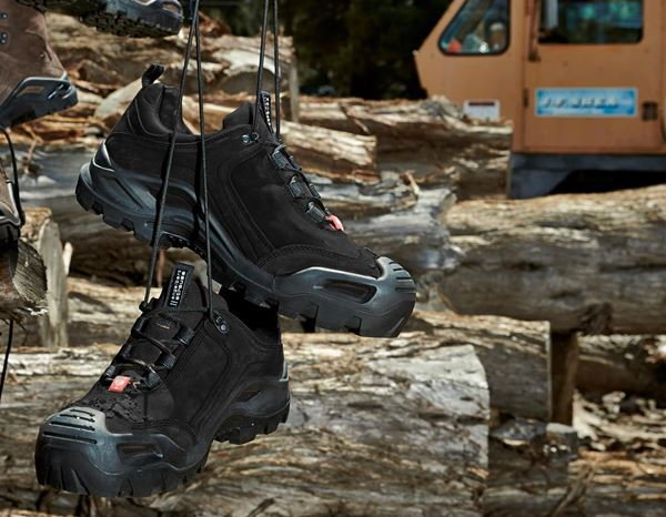 S3: e.s. S3 Safety shoes Nembus low + black 1