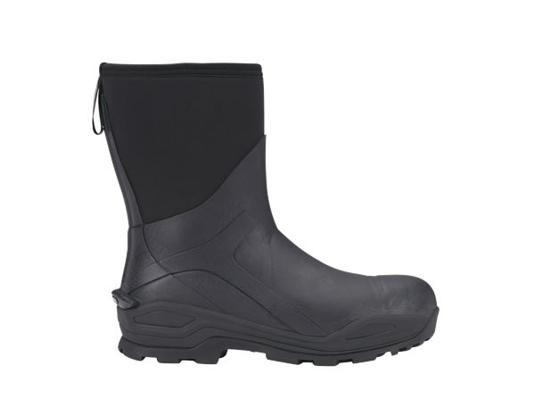 Safety Wellingtons S5: e.s. S5 Neoprene safety boots Kore high + graphite/black