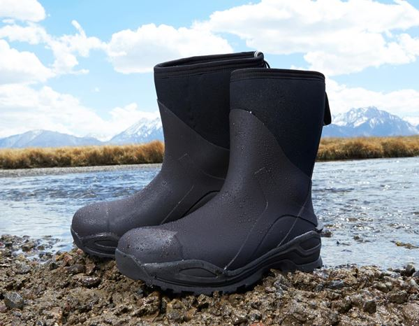 Safety Wellingtons S5: e.s. S5 Neoprene safety boots Kore high + graphite/black 1