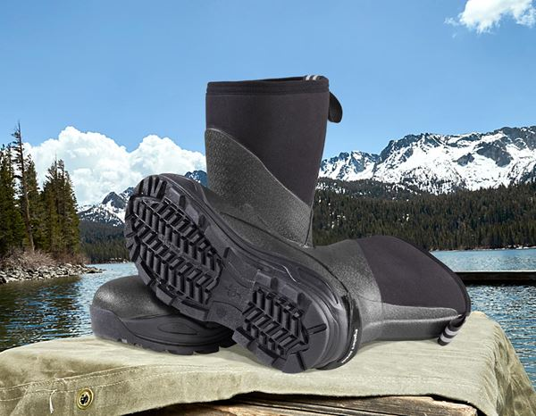 Safety Wellingtons S5: e.s. S5 Neoprene safety boots Kore high + graphite/black 2