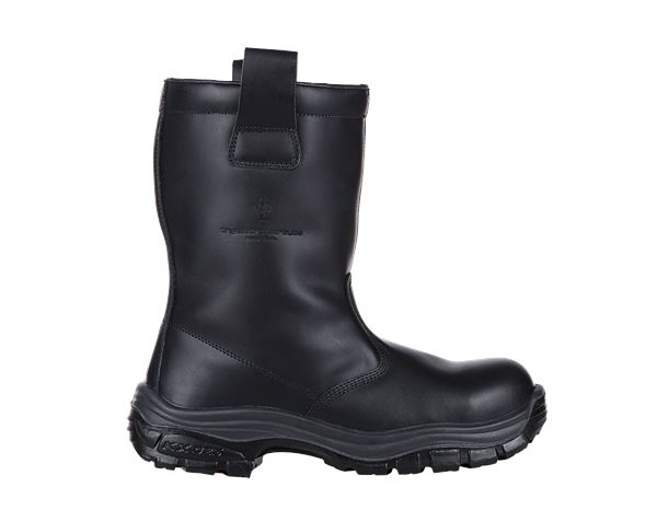 Safety Boots S3: S3 Winter safety boots + black
