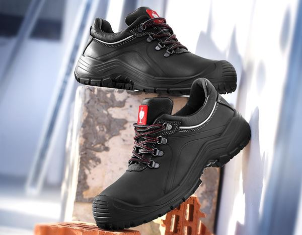 S3: e.s. S3 Safety shoes Umbriel low + black 1