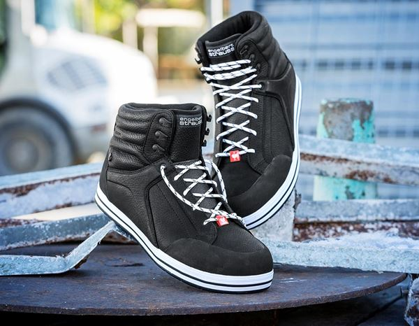 S3: e.s. S3 Safety boots Spes mid + black 1