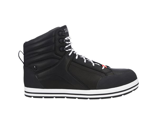 S3: e.s. S3 Safety boots Spes mid + black