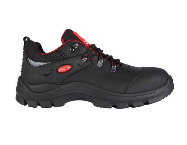 Safety Shoes S3: S3 Safety shoes Andrew + black/red