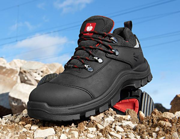 S3: S3 Safety shoes Andrew + black/red 1