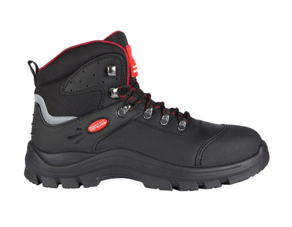Safety Shoes S3: S3 Safety boots David + black/red