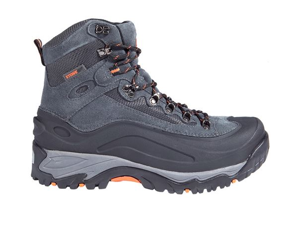 Safety Shoes S3: STONEKIT S3 Safety boots Trivero + black/grey