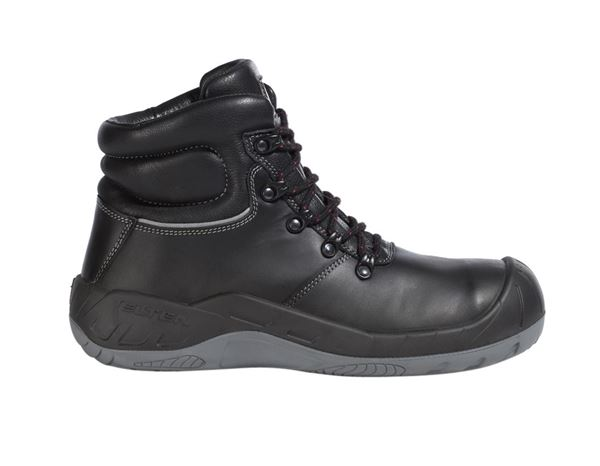Safety Shoes S3: Elten S3 Roofer's- / Tarmac Safety boots Samuel  + black