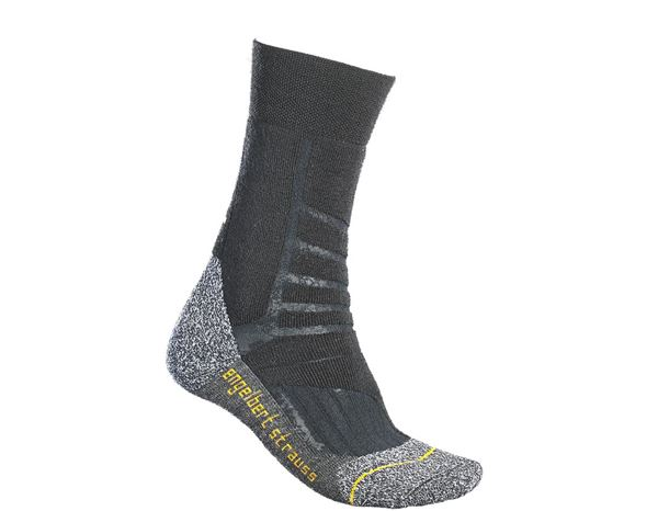 Functional socks: e.s. Allround socks function warm/high + black