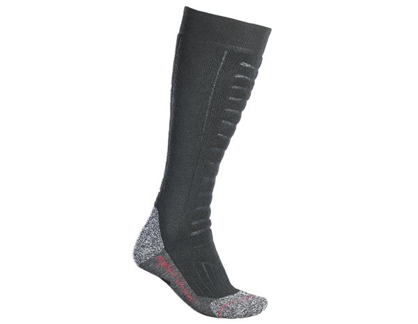 Functional socks: e.s. Allround socks function x-warm/x-high + black