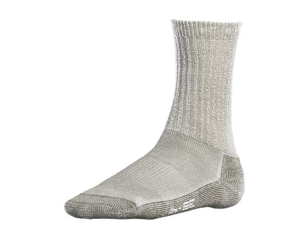 Socken | Strümpfe: e.s.Merinosocken Nature warm/high + terra melange