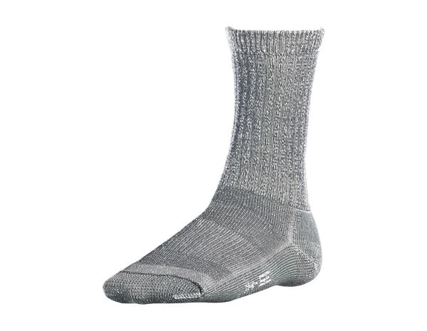 Socken / Strümpfe: e.s.Merinosocken Nature warm/high + titan melange