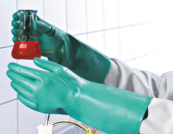 Coated: Nitrile special gloves Nitril Plus 1
