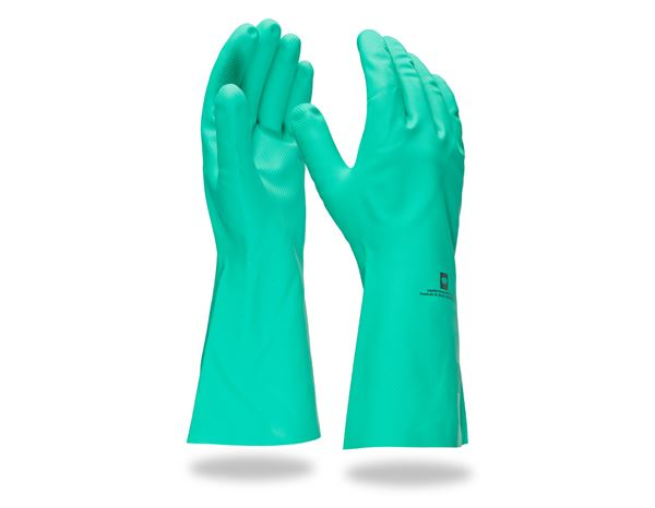 Coated: Nitrile special gloves Nitril Plus
