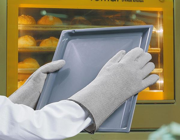 Coated: Nitrile heat-resistant gloves Crusader-Flex™ 2