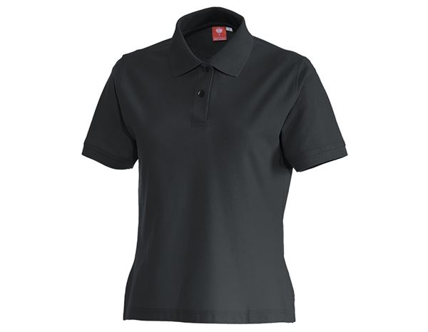 Shirts, Pullover & more: e.s. Polo shirt cotton, ladies' + anthracite
