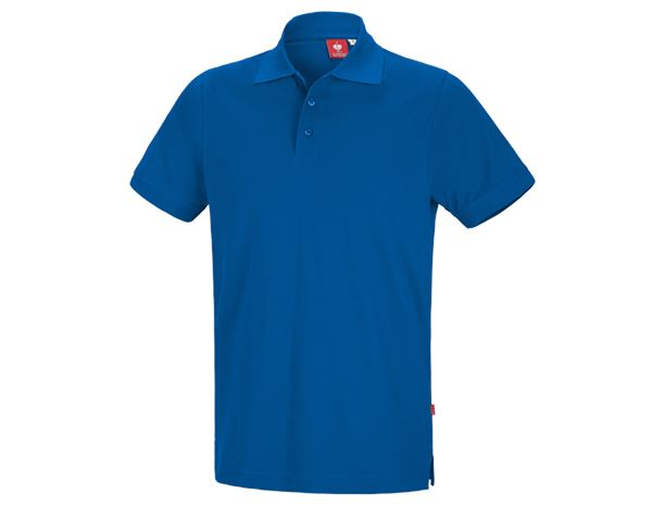 Polo-Shirts: e.s. Polo shirt cotton + gentian blue