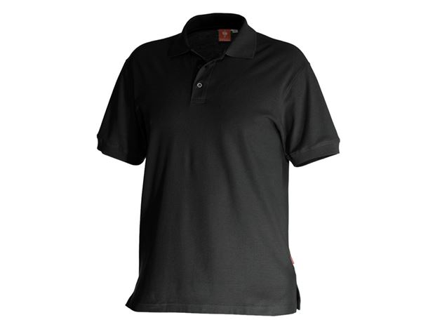 Polo-Shirts: e.s. Polo-Shirt cotton + schwarz