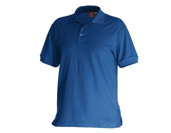 Shirts, Pullover & more: e.s. Polo shirt cotton + royal