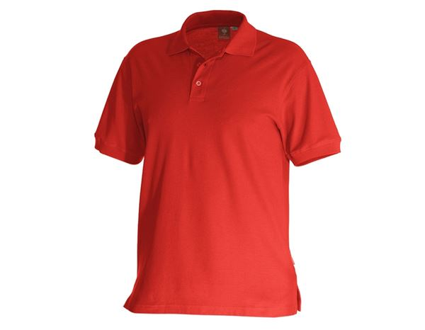Shirts, Pullover & more: e.s. Polo shirt cotton + fiery red