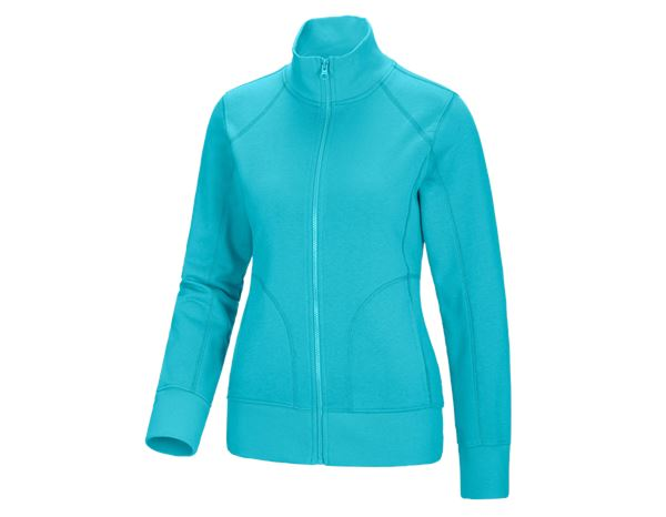 Shirts, Pullover & more: e.s. Sweat jacket poly cotton, ladies' + capri