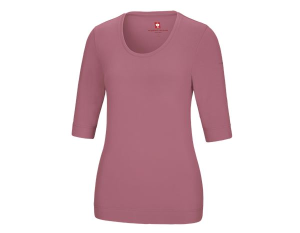 Shirts, Pullover & more: e.s. Shirt 3/4 sleeve cotton stretch, ladies' + antiquepink