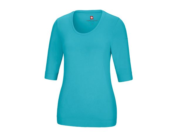 Shirts, Pullover & more: e.s. Shirt 3/4 sleeve cotton stretch, ladies' + capri