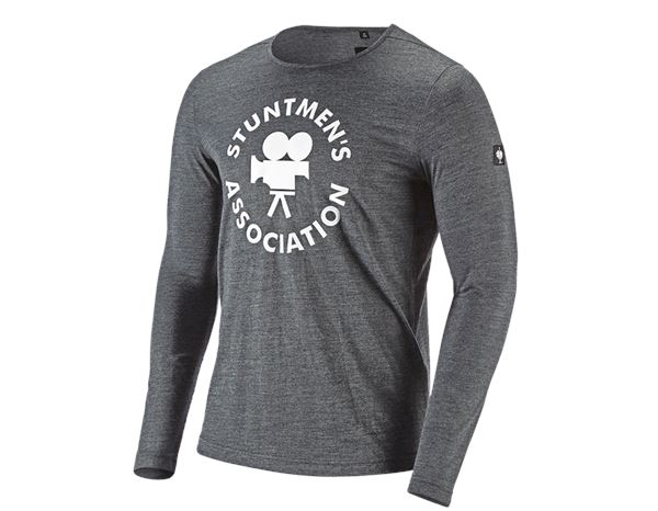 Shirts & Co.: Stunt'n'Media Stuntmen's Aramid Longsleeve + black