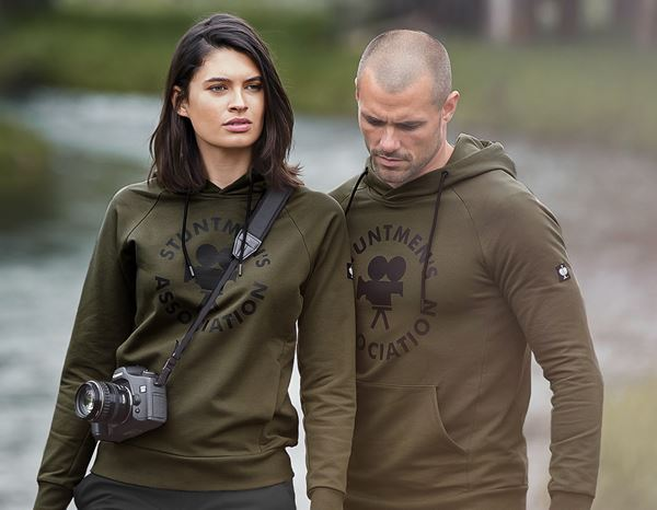 Women: Stunt'n'Media Stuntmen's Hoody, Ladies' + darkolive 1