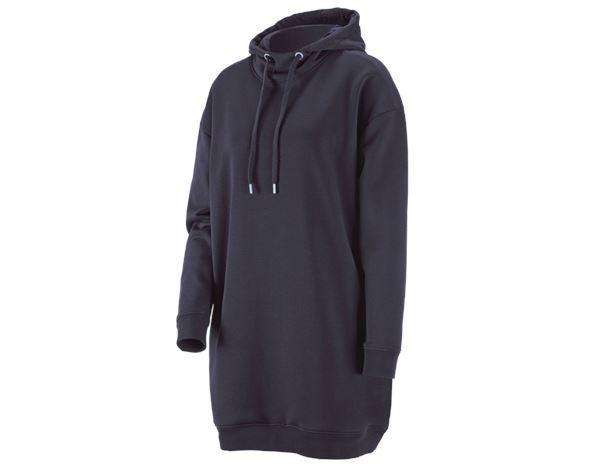 finest selection 3784c 5d5fb e.s. Oversize Hoody-Sweatshirt poly cotton, Damen dunkelblau ...
