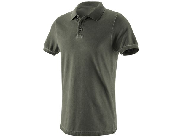 Polo-Shirts: e.s. Polo shirt vintage cotton stretch + disguisegreen vintage