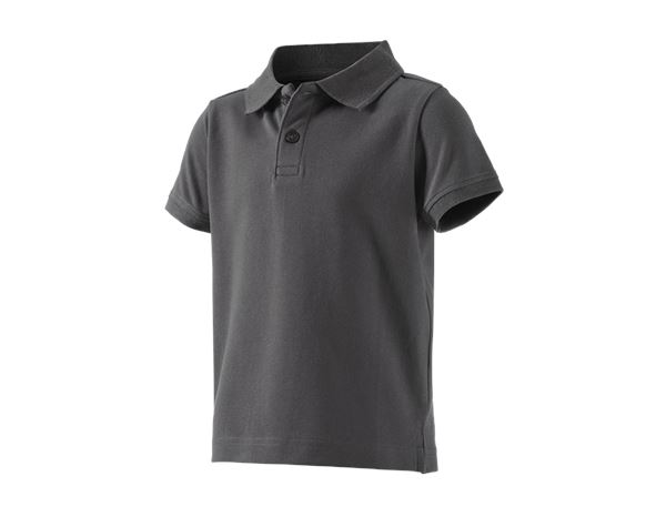 Shirts, Pullover & more: e.s. Polo shirt cotton stretch, children's + anthracite