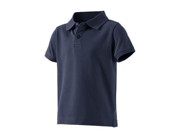 Shirts, Pullover & more: e.s. Polo shirt cotton stretch, children's + navy