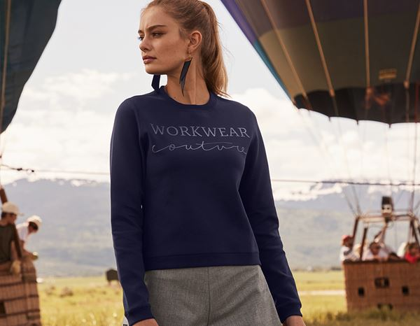 workwear couture: Reversible Sweater + darkblue