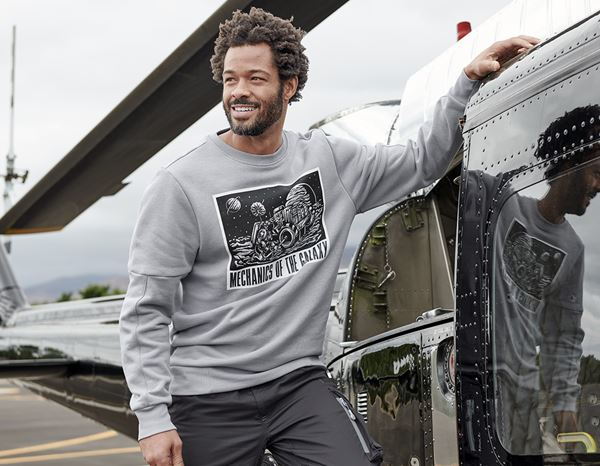 Shirts, Pullover & more: e.s. Sweatshirt Mission 2020 + platinum