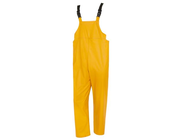Pantalons de travail: Salopette Flexi-Stretch + jaune