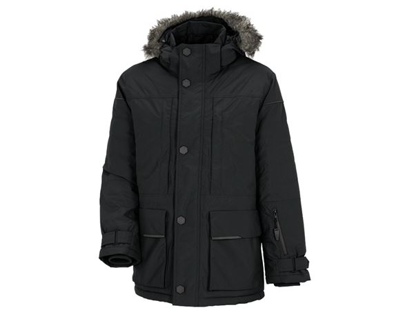 Winter Jackets: Winter parka e.s.vision, men's + black