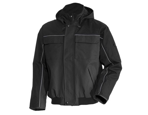 Winter Jackets: Pilot jacket e.s.image  + black