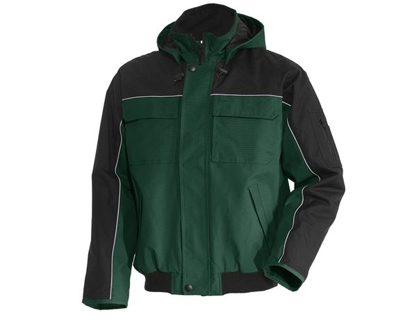 Winter Jackets: Pilot jacket e.s.image  + green/black
