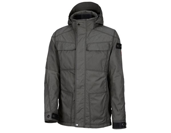 Winterjacken: e.s. Funktionsjacke cotton touch + titan