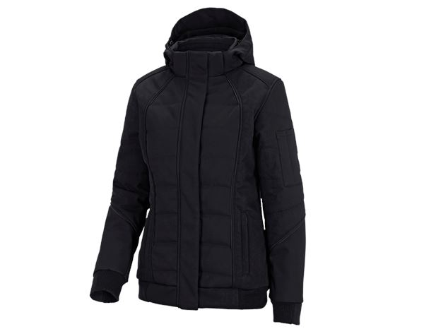 Work Jackets / Body Warmer: Winter softshell jacket e.s.vision, ladies' + black