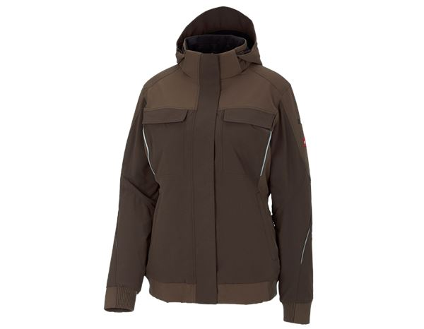 Jacken / Westen: Winter Funktions Jacke e.s.dynashield, Damen + haselnuss/kastanie
