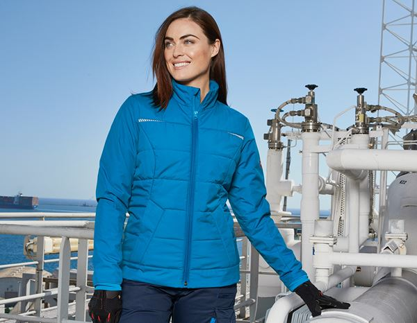 Jacken: Windbreaker e.s.motion 2020, Damen + atoll/dunkelblau