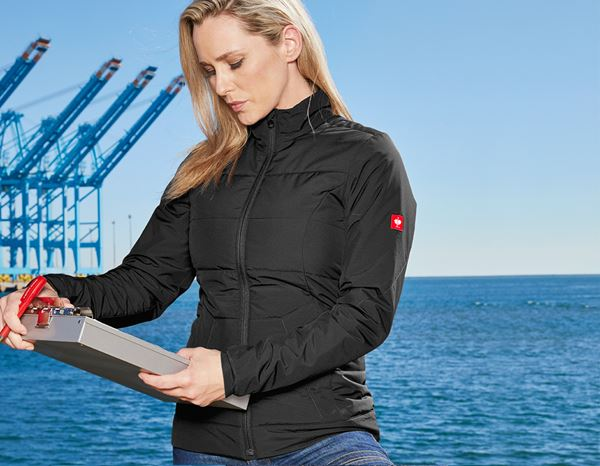 Jacken: Windbreaker e.s.motion 2020, Damen + schwarz/anthrazit 1