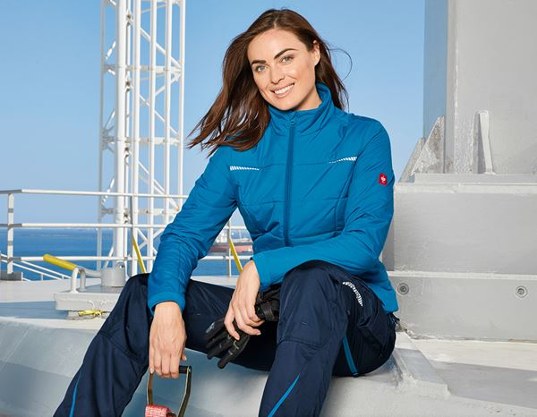Jacken: Windbreaker e.s.motion 2020, Damen + atoll/dunkelblau 1