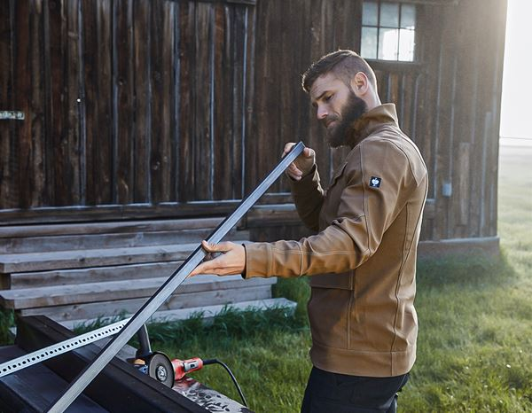 Men: Stunt'n'Media Pyro Pilot Jacket + camel 1